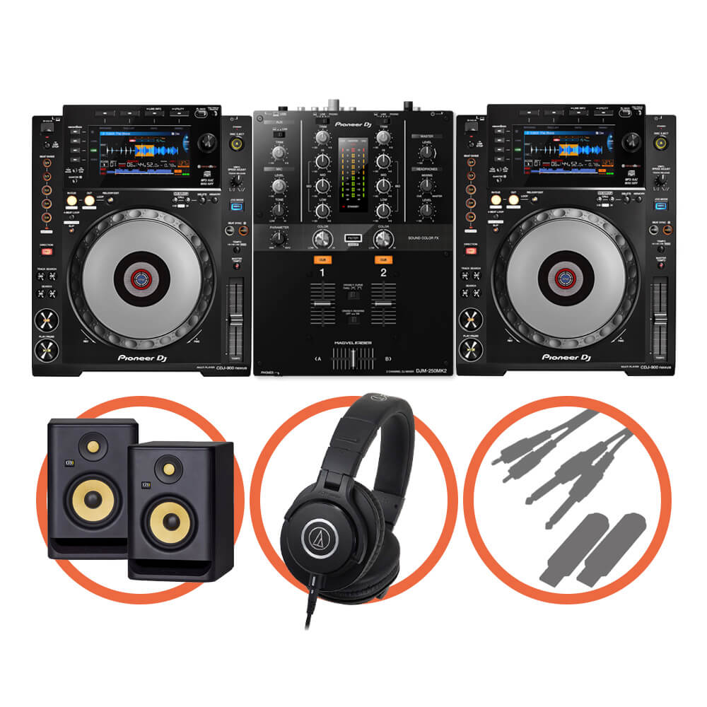 Pioneer DJ <br>CDJ-900NXS Scratch Plus set