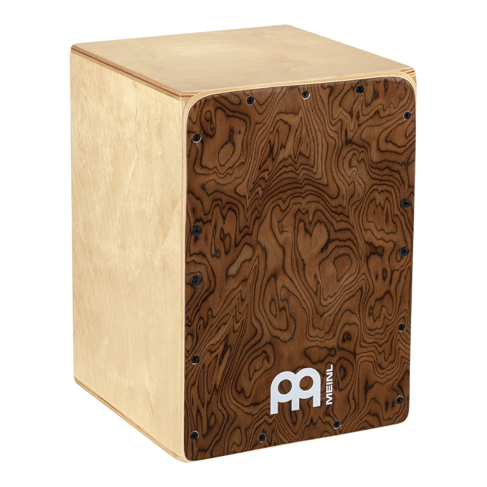 MEINL <br>Jam Series Cajon / Burl Wood [JC50BW]