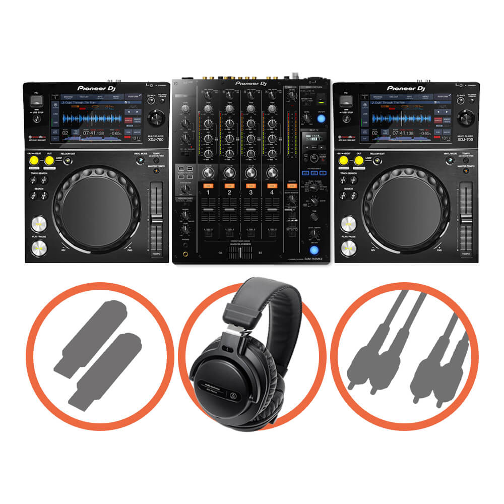 Pioneer DJ <br>XDJ-700 Club House set