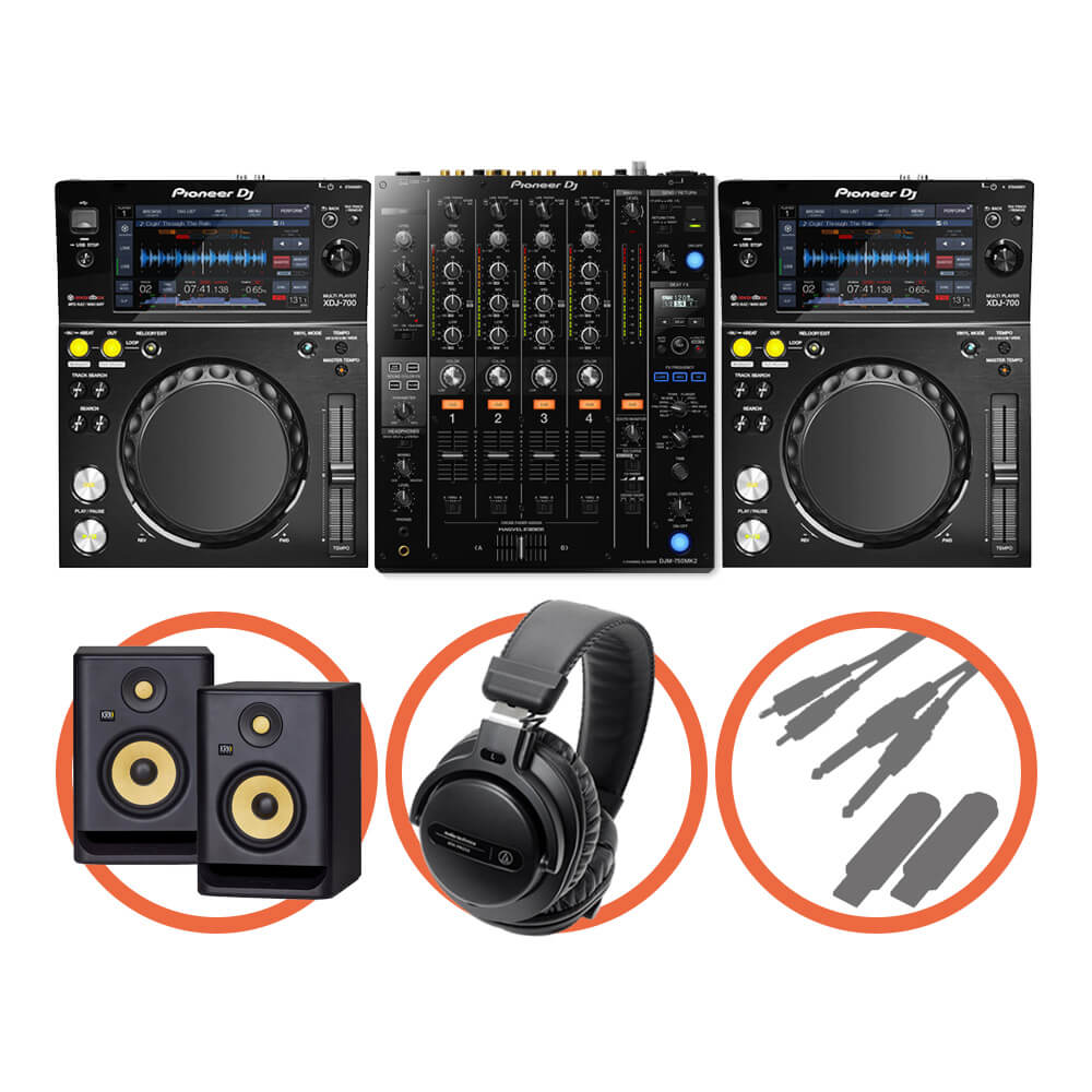 Pioneer DJ <br>XDJ-700 Club House Plus set