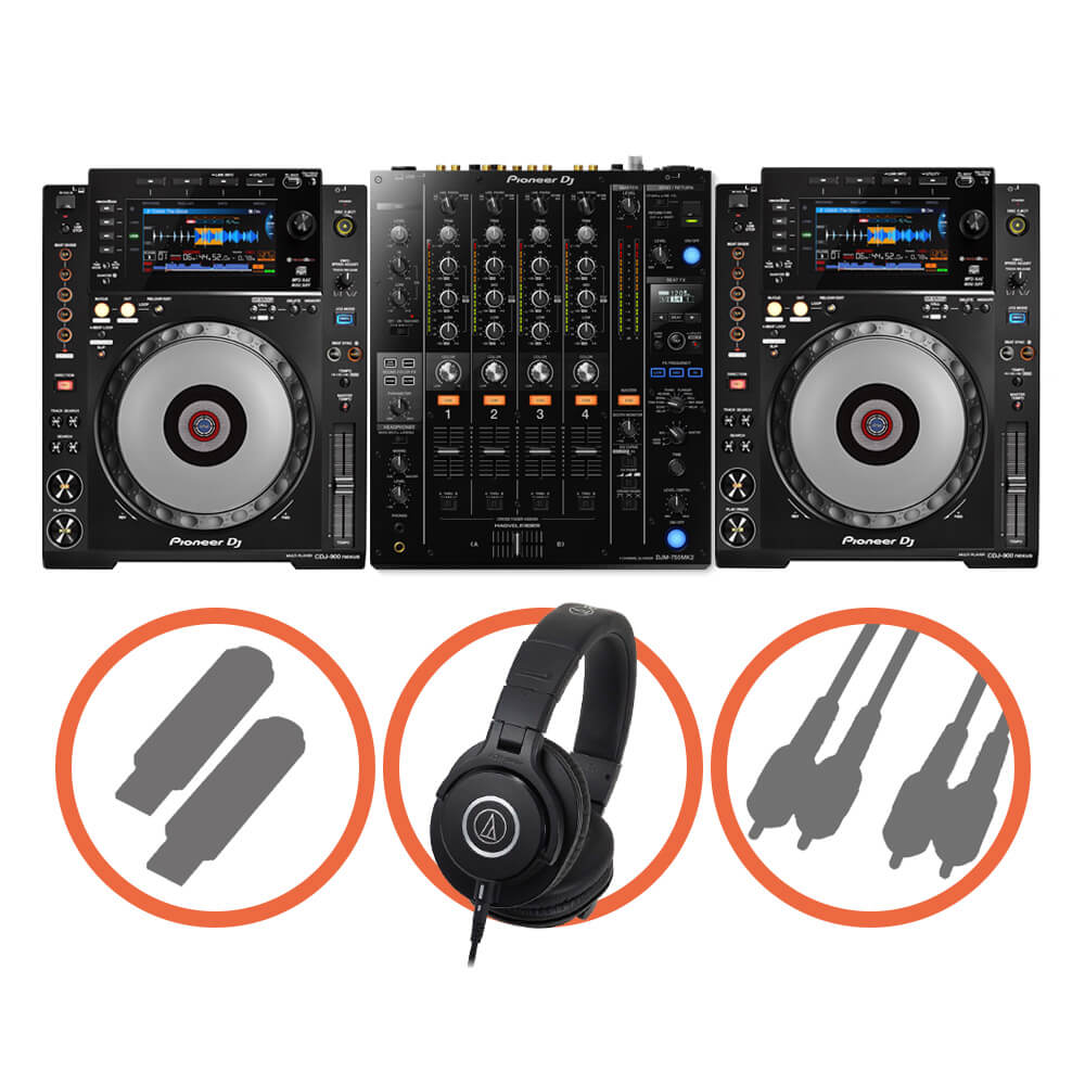 Pioneer DJ <br>CDJ-900NXS Club House set