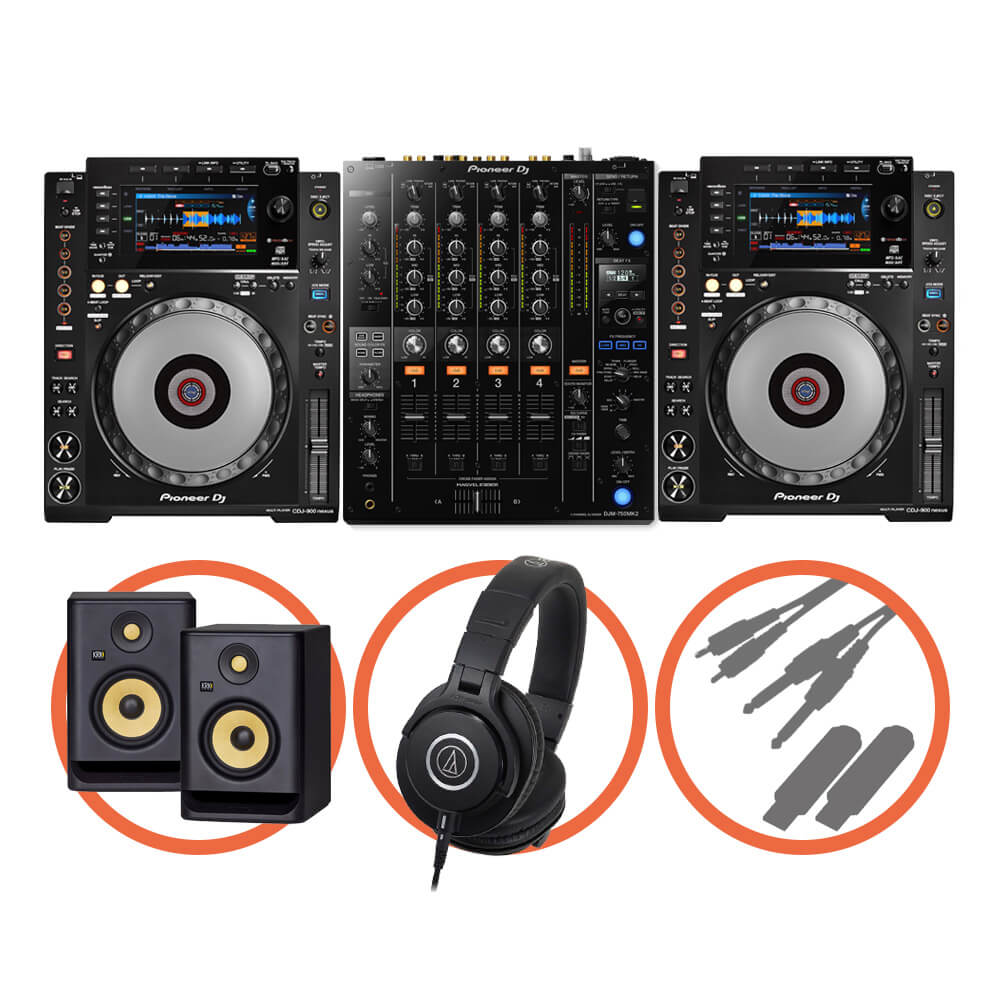 Pioneer DJ <br>CDJ-900NXS Club House Plus set