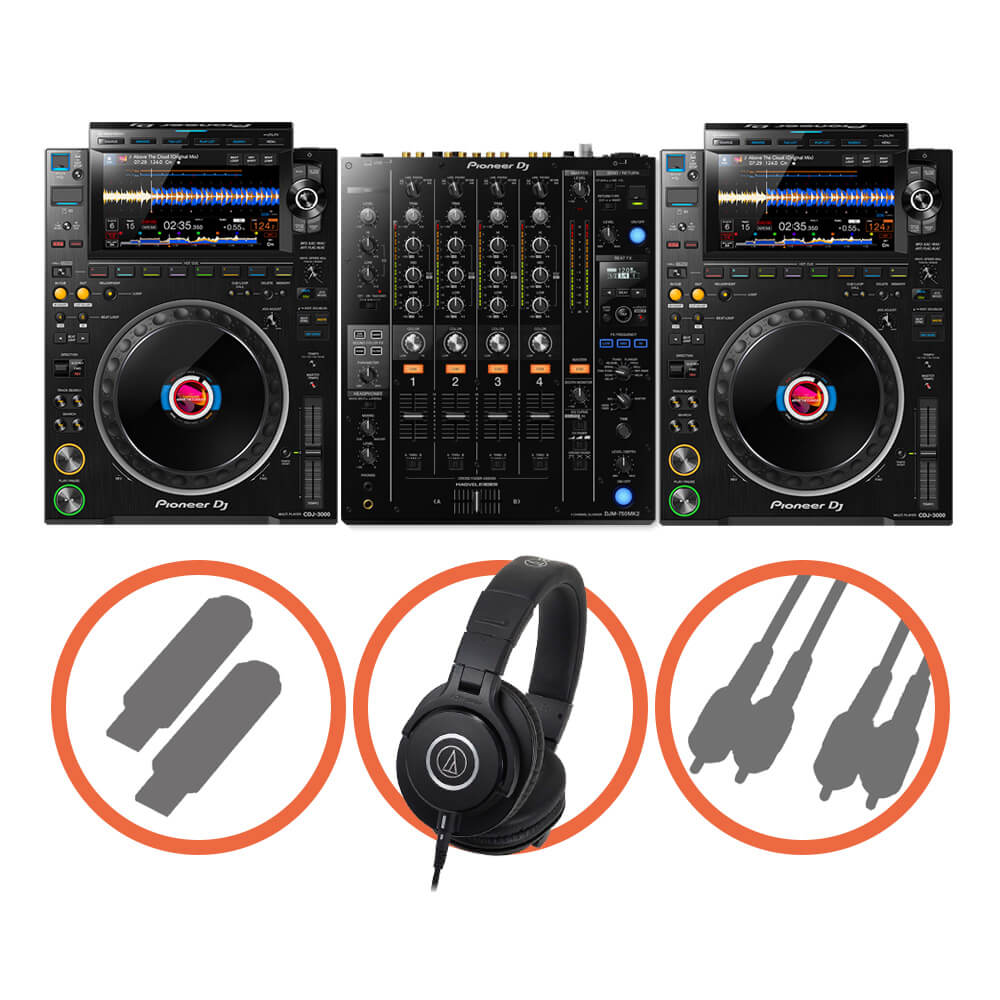 Pioneer DJ <br>CDJ-3000 Club House set