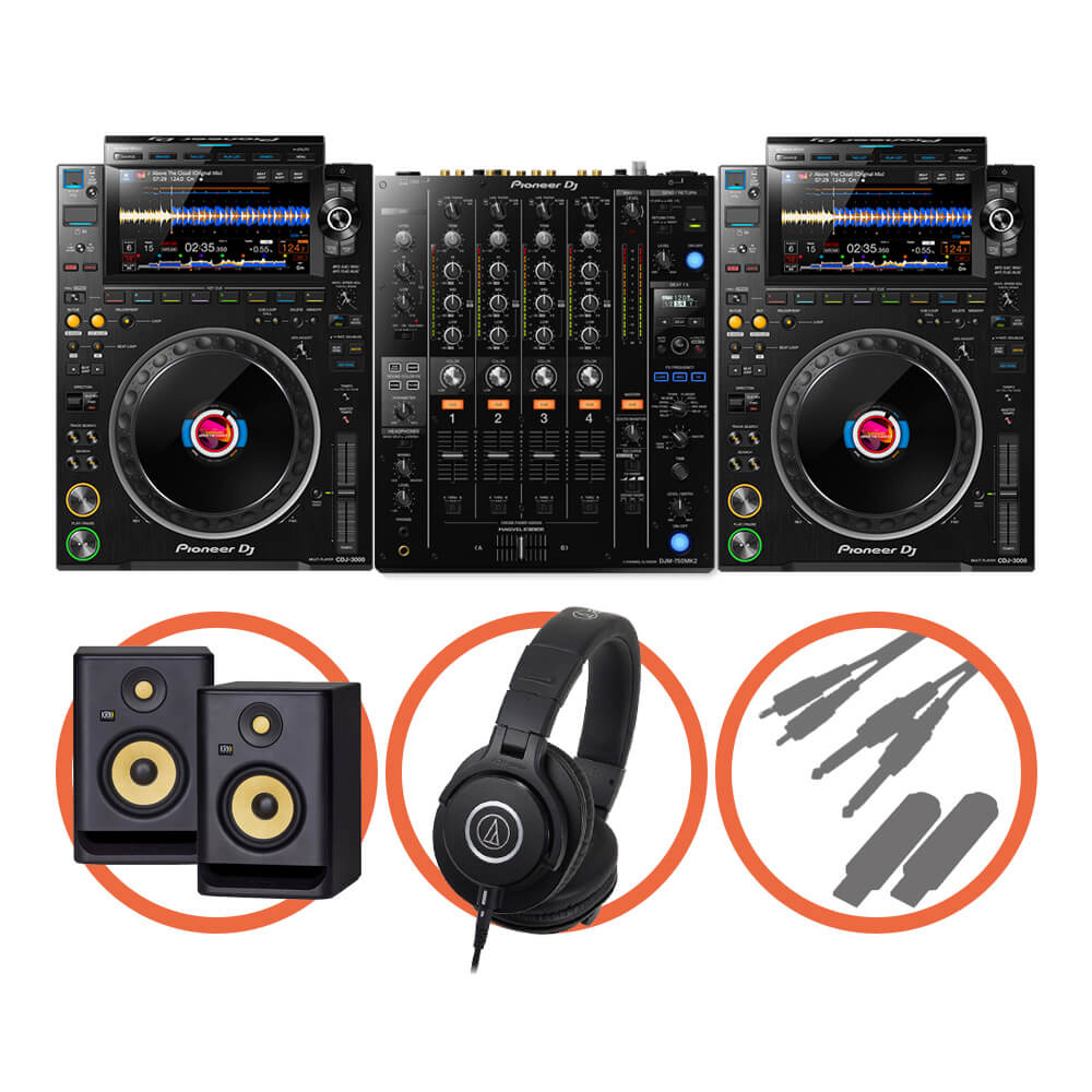 Pioneer DJ <br>CDJ-3000 Club House Plus set