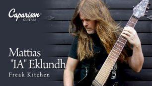 """2014.12.6(sat) Caparison Guitars Freak Kitchen Mattias """"IA"""" Eklundh ギタークリニック・レポート"""